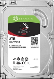Seagate IronWolf HDD NAS 2TB 5900RPM SATA3 64MB ST2000VN004