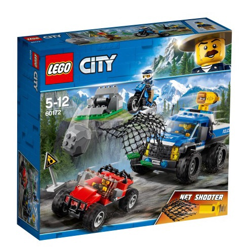 Konstruktor LEGO City,  Muldteel tagaajamine 60172