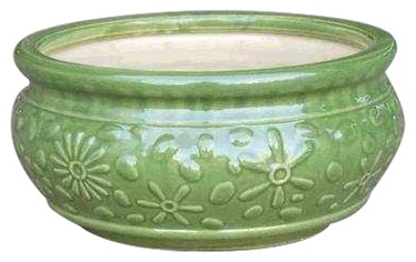 SN Ceramic Pot IP13-652 Ø25cm Green