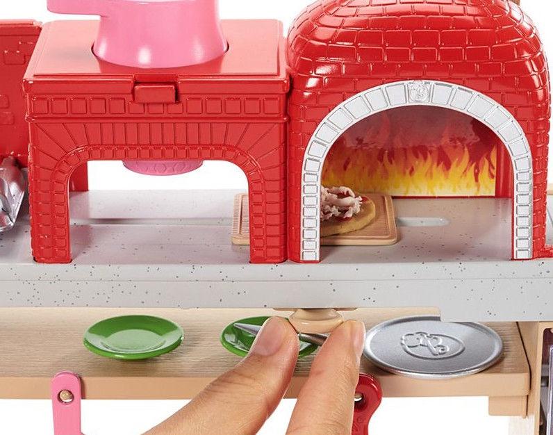 Mattel Barbie Pizza Chef Doll & Playset FHR09