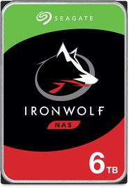 "Seagate IronWolf NAS HDD 3.5"" 6TB 5400RPM 256MB ST6000VN001"
