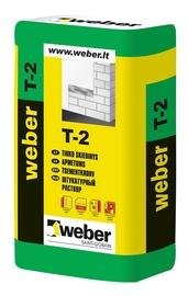 Cementinis kalkinis tinkas Weber T-2, 25 kg.