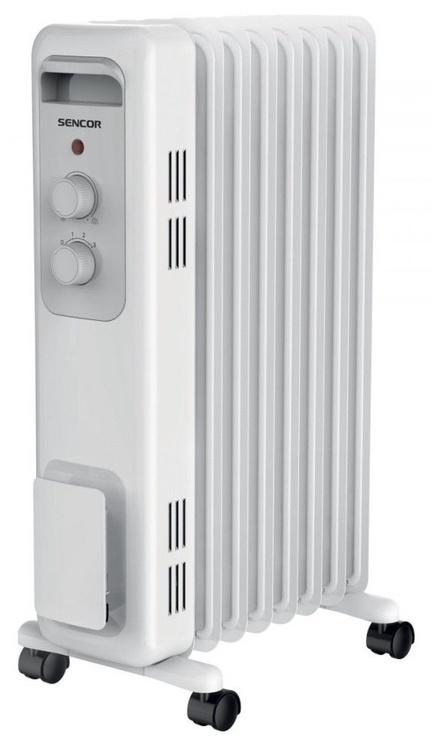 Масляный нагреватель Sencor SOH 3207WH, 600 Вт