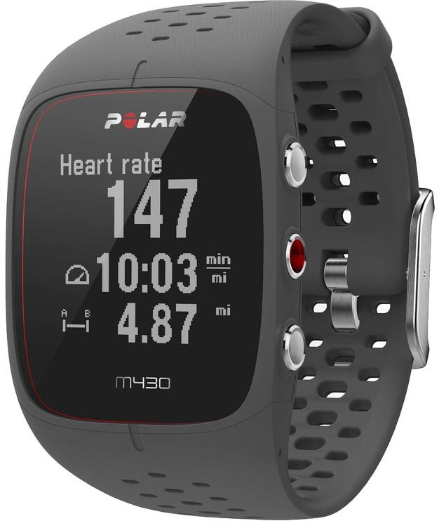 Polar M430 GPS Running Watch Grey