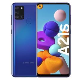 Išmanusis telefonas Samsung Galaxy A21S mėlyna