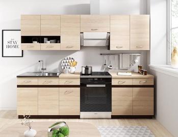 Кухонный гарнитур WIPMEB Livia, дубовый, 2.4 м
