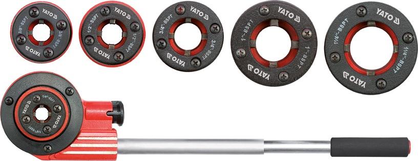 Yato YT-2900 Ratchet Die Stock 7pcs