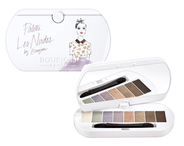 BOURJOIS Paris Eyeshadow Palette 4.5g Les Nudes 01