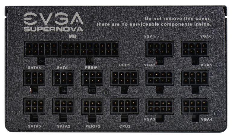 EVGA Power Supply PSU 1200W 80 PLUS Platinum