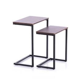 Kafijas galdiņš Homede Jalt Walnut, 480x300x590 mm