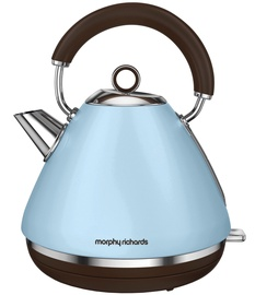 Morphy Richards Special Edition Accents Azure Traditional Kettle 102100