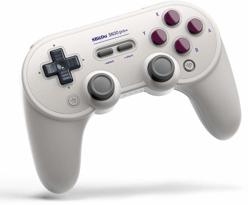 Žaidimų pultas 8BitDo SN30 Pro + Grey