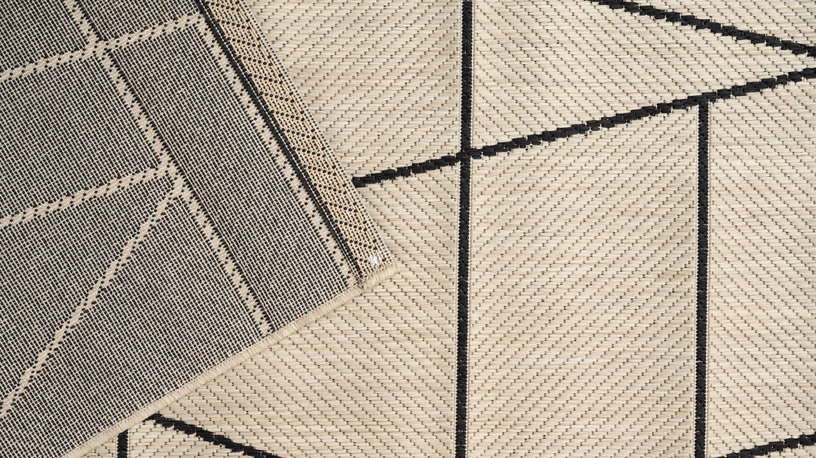 Ковер Domoletti Lineo lin9345, многоцветный/песочный, 230 см x 160 см