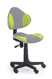 Vaikiška kėdė Flash 2, pilka/žalia