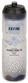 Велосипедная фляжка Zefal Arctica 75 Drink Bottle Silver/Black 750ml