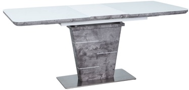 Signal Meble Ilario Expendable Table 140x80cm Grey