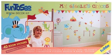 FunToSee Wall Stickers Mr. Giggles Circus