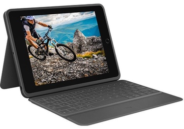 Logitech Rugged Folio for iPad 7th Gen Graphite