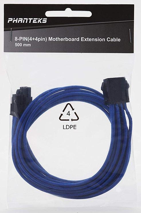Phanteks PH-CB8P Extension Cable Motherboard 8pin 500mm Blue