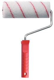 Color Expert Polyacrylic Paint Roller With Handle Red Stripes Ø40mm 18cm