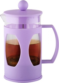 Fissman Coffee Maker French-Press Mokka 600ml Glass Purple 9004