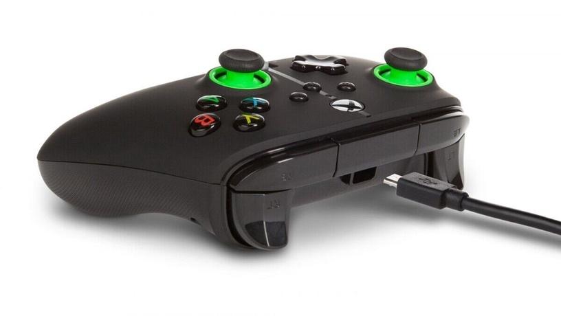 Пульт управления PowerA Enhanced Controller Xbox Series X/S Green Hint
