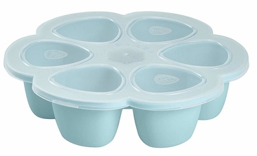 Beaba Silicone Multiportions 6 x 90 ml Blue