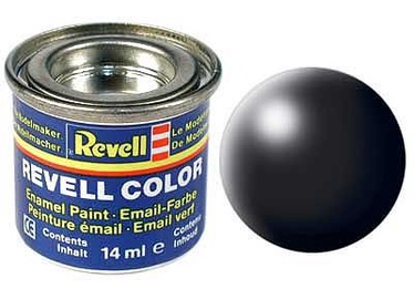 Revell Email Color 14ml Silk RAL 9005 Black 32302