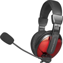 Xtrike Me HP-307 Over-Ear Gaming Headset Black/Red