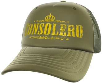 Kepuraitė GamersWear Consolero Trucker Cap Olive