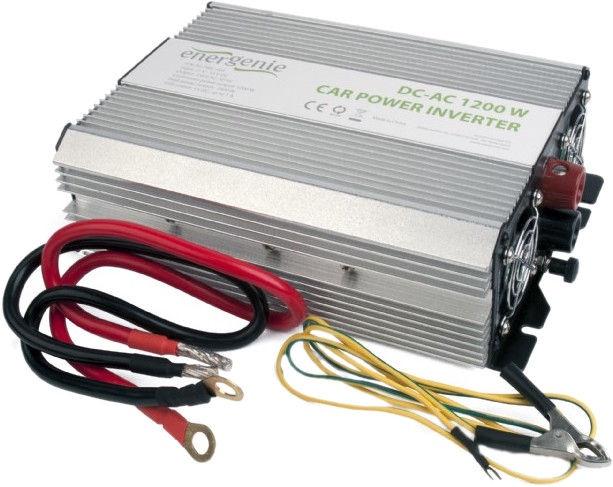 EnerGenie by Gembird Car Power Inverter 1200W