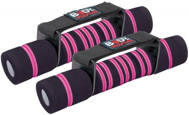 Body Sculpture Dumbbells SW312 2x0.5kg Black/Pink