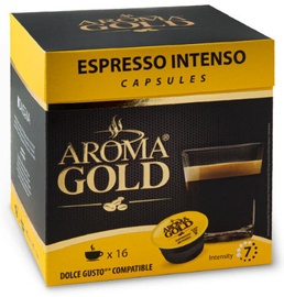 Aroma Gold Expresso Intenso Coffee Capsules 16pcs 128g