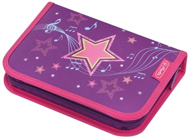 Herlitz Melody Pencil Box Star 50014354
