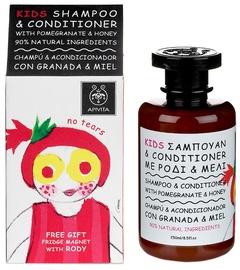Apivita Kids Honey&Pomegranate Shampoo&Conditioner 250ml