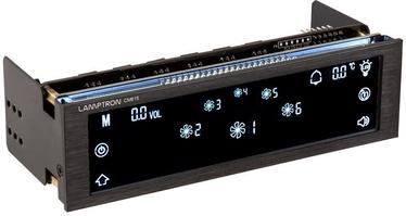Lamptron CM615 LCD Touch Screen Fan Controller Black