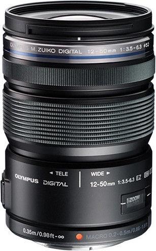 Olympus 12-50mm f/3.5-6.3 EZ M.Zuiko Digital ED Black