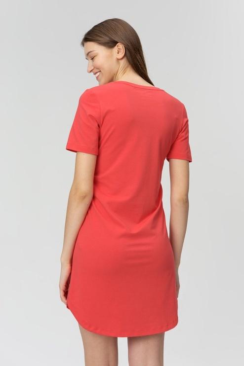 Audimas Soft Touch Modal Dress Poppy Red S