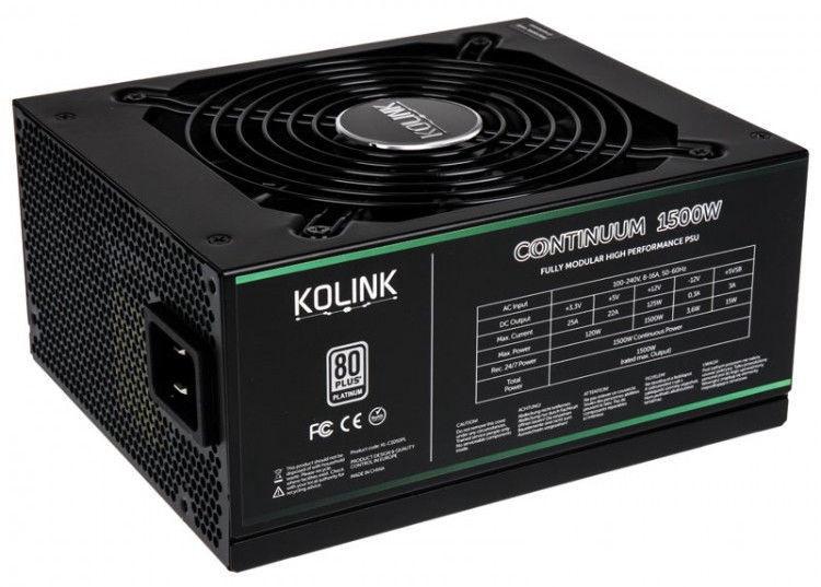 Kolink Continuum 80 Plus Platinum PSU 1500W