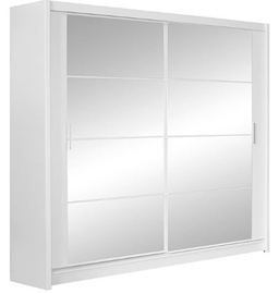 Stolar Dakota Wardrobe 203x215x61cm White