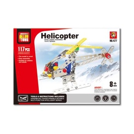 Assembly Alloy Toys Helicopter 525124083/477