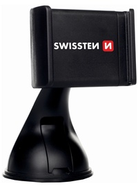 Swissten Premium S-GRIP B2 Window Holder Black