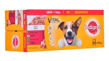 Влажный корм для собак Pedigree Vital Protection Mix In Jelly, 0.1 кг