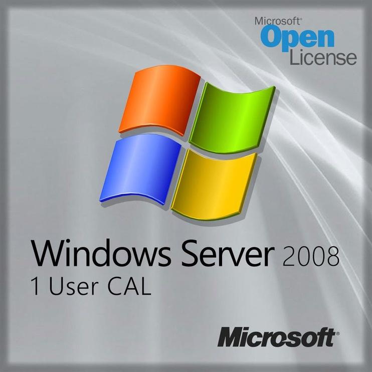 Microsoft Windows Server 2008 1 User CAL SA OLP NL