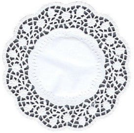 Pap Star Napkin For Cups 100pcs White