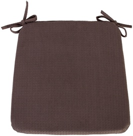 Home4you Chair Pad Rio 39x39cm Brown