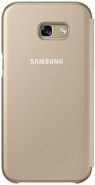 Samsung Neon Flip Cover For Samsung Galaxy A5 A520 Gold