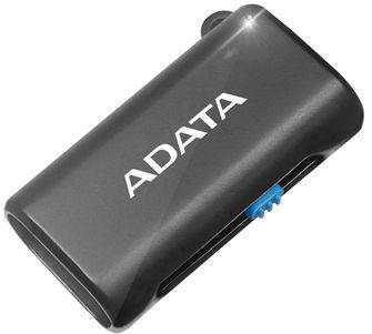 Adata USB OTG MicroSD Card Reader Black
