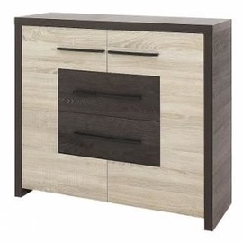 Gib Meble Chest of drawers Sonoma Oak/Cantenbury Eik