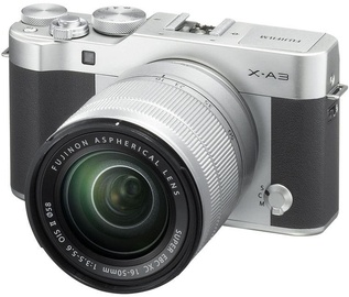 Fujifilm X-A3 Mirrorless Digital Camera + 16-50mm Lens Silver